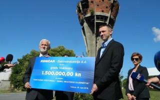 koncar-elektroindustrija-donirala-je-obnovu-vodotornja-15-milijuna-kuna